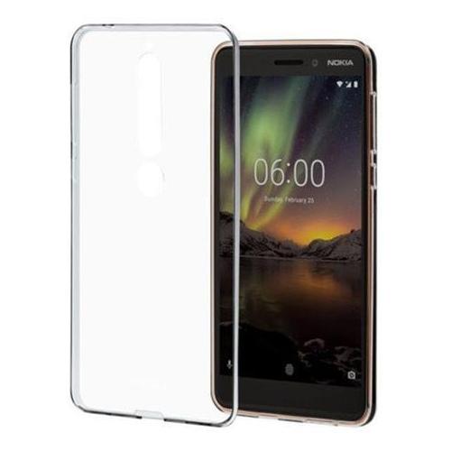 CC-110 Nokia Slim Crystal Cover pro Nokia 6.1 Transparent (EU Blister)