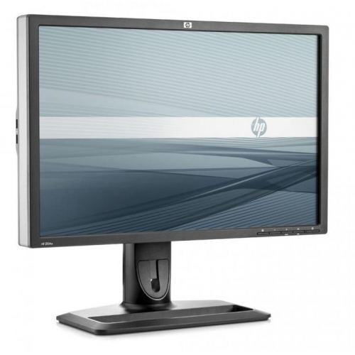 "LCD HP 24"" ZR24W, black/silver, B+"