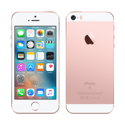 Apple iPhone 5 SE 16GB rose gold