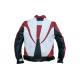 Moto bunda Devil Slayer černo červeno bílá