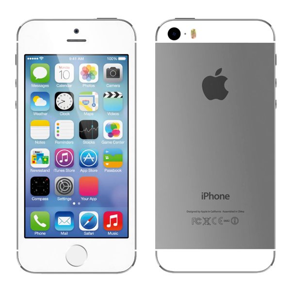 Apple iPhone 5s 64GB White Silver