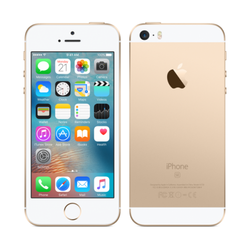 Apple iPhone 5 SE 16GB gold