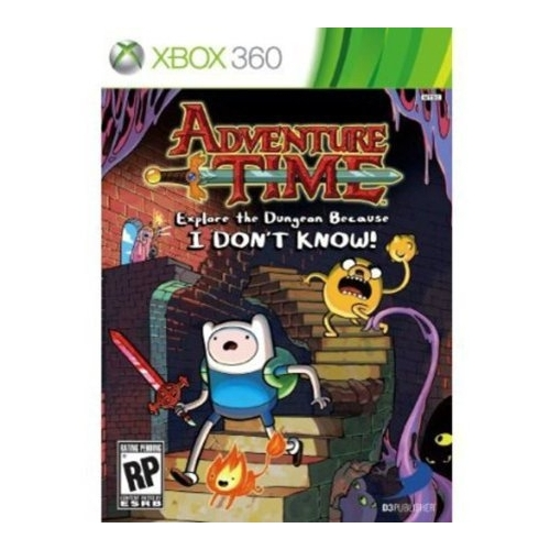 Adventure Time : Explore the dungeon because I DON'T KNOW