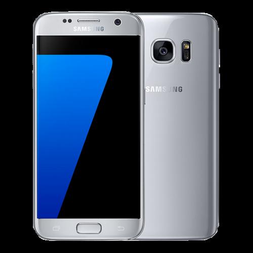 Samsung Galaxy silver titanium S7