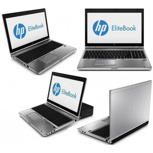 HP EliteBook 8570p, Core i5 3340M 2.7GHz/4GB RAM/128GB SSD + 500GB HDD/battery VD