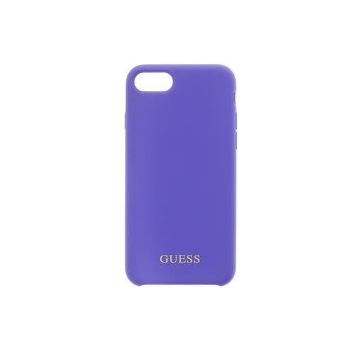 GUHCI8LSGLUV Guess Saffiano PU Silicone Case Purple pro iPhone 7/8