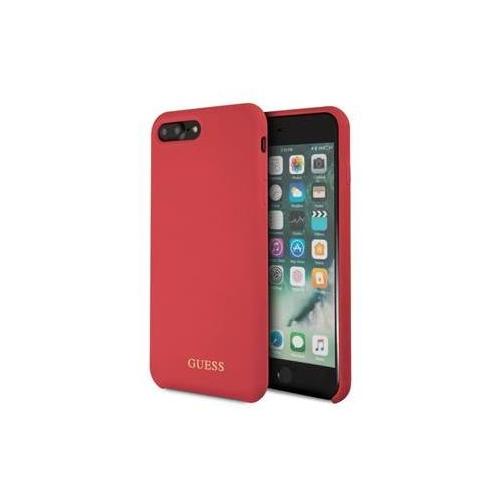 GUHCI8LLSGLRE Guess Silicone Logo TPU Case Red pro iPhone 7/8 Plus