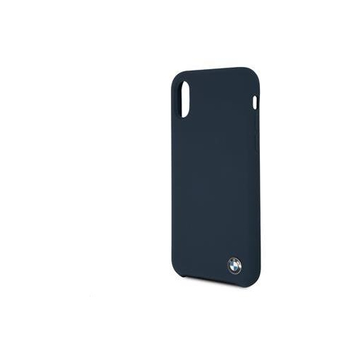 BMHCPXSILNA BMW Silicone Hard Case Navy pro iPhone X/XS