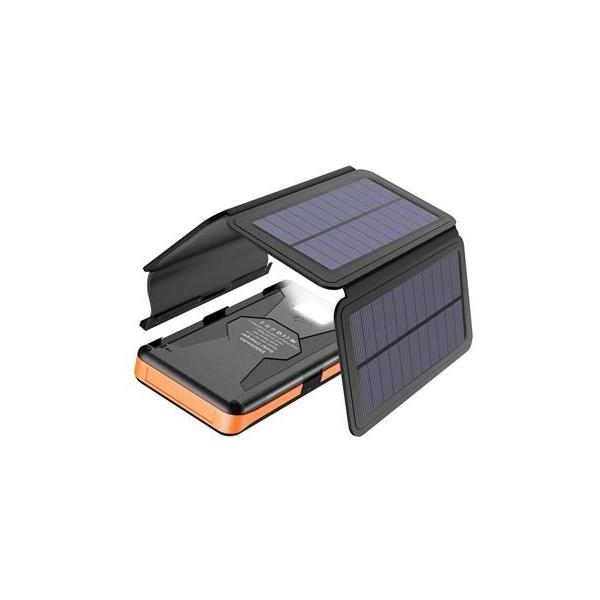 Allpowers XD-SC-013-BORA Solární nabíječka 6W + 25000mAh PowerBank Black/Orange