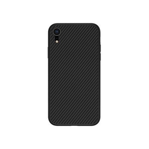 Nillkin Synthetic Fiber Ochranný Zadní Kryt Carbon Black pro iPhone XR