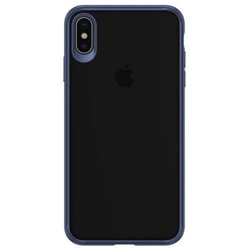 USAMS Mant Zadní Kryt Blue pro iPhone XS Max