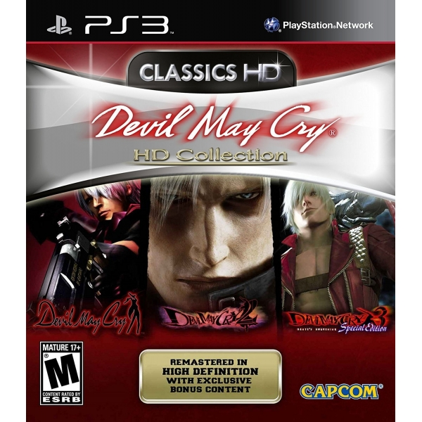 Devil May Cry HD Collection (nová)