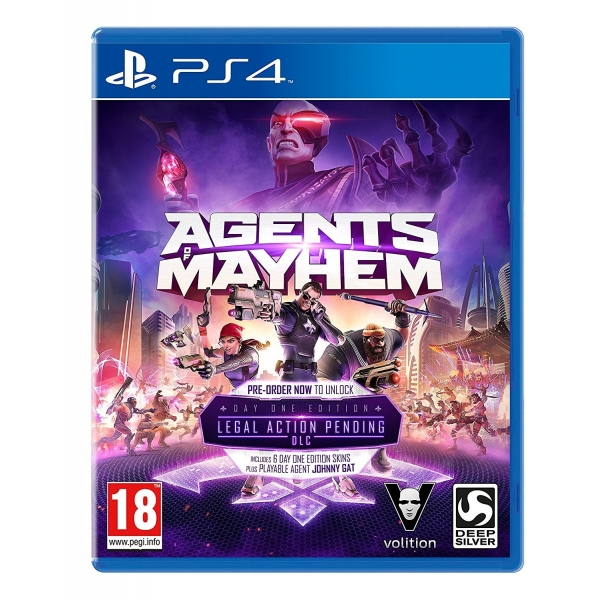 Agents of Mayhem Day One Edition