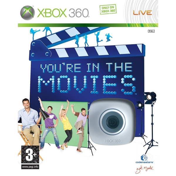 You are in the movies + Live Vision kamera