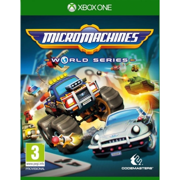 Micro Machines: World Series (nová)
