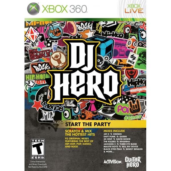 Dj Hero (pouze hra)