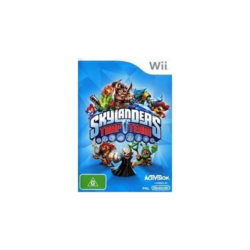 Skylanders: Trap Team (pouze hra) Wii