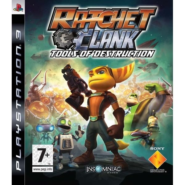 Ratchet and Clank Tools of Destruction