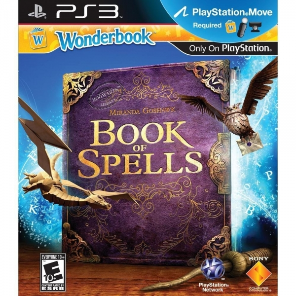 Wonderbook: Book of Spells (pouze hra)
